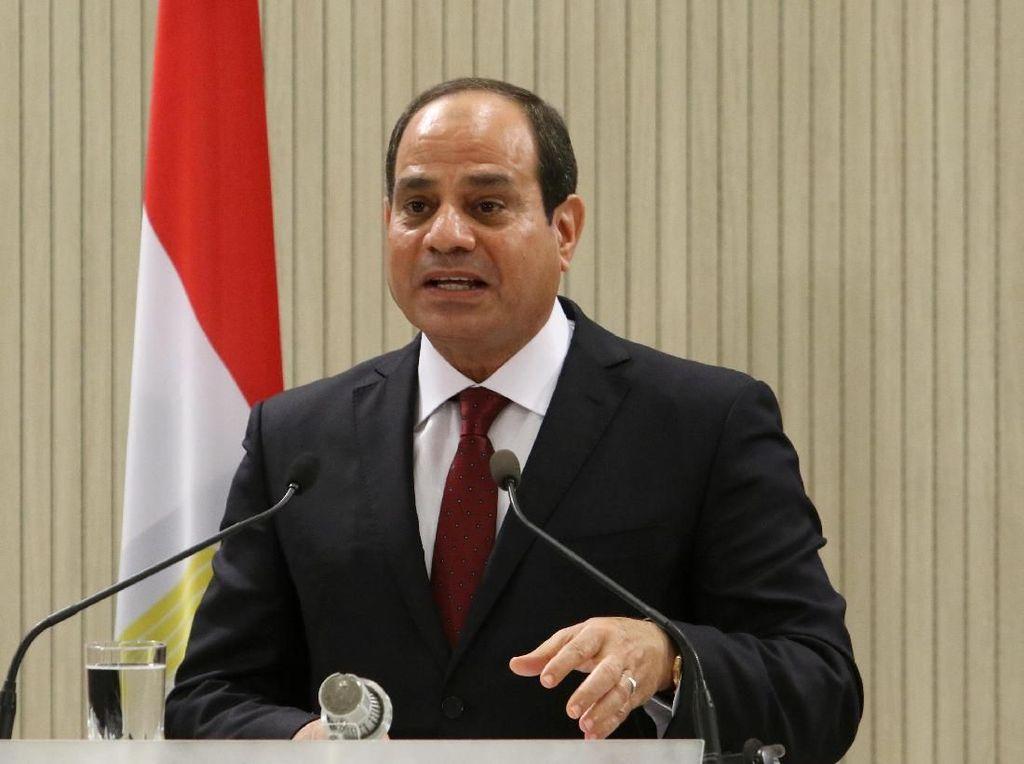 Presiden Mesir Perpanjang Keadaan Darurat karena Pandemi Corona