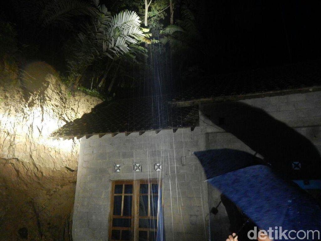 Rumah Korban Tebing Longsor di Kulon Progo Dibangun Memotong Bukit