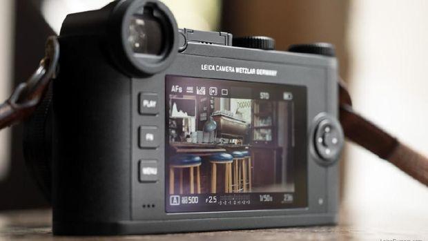 Tampilan LCD Leica CL.