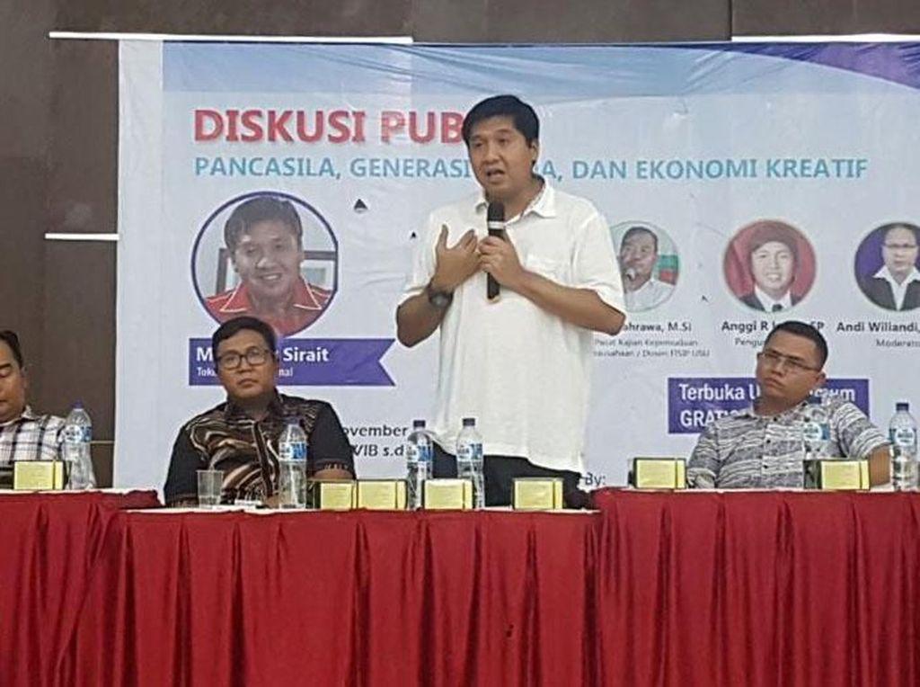 Diskusi Pancasila, Generasi Muda dan Ekonomi Kreatif