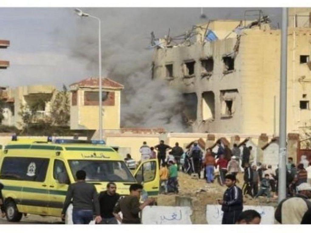Kesaksian Korban Bom di Masjid Mesir yang Selamat