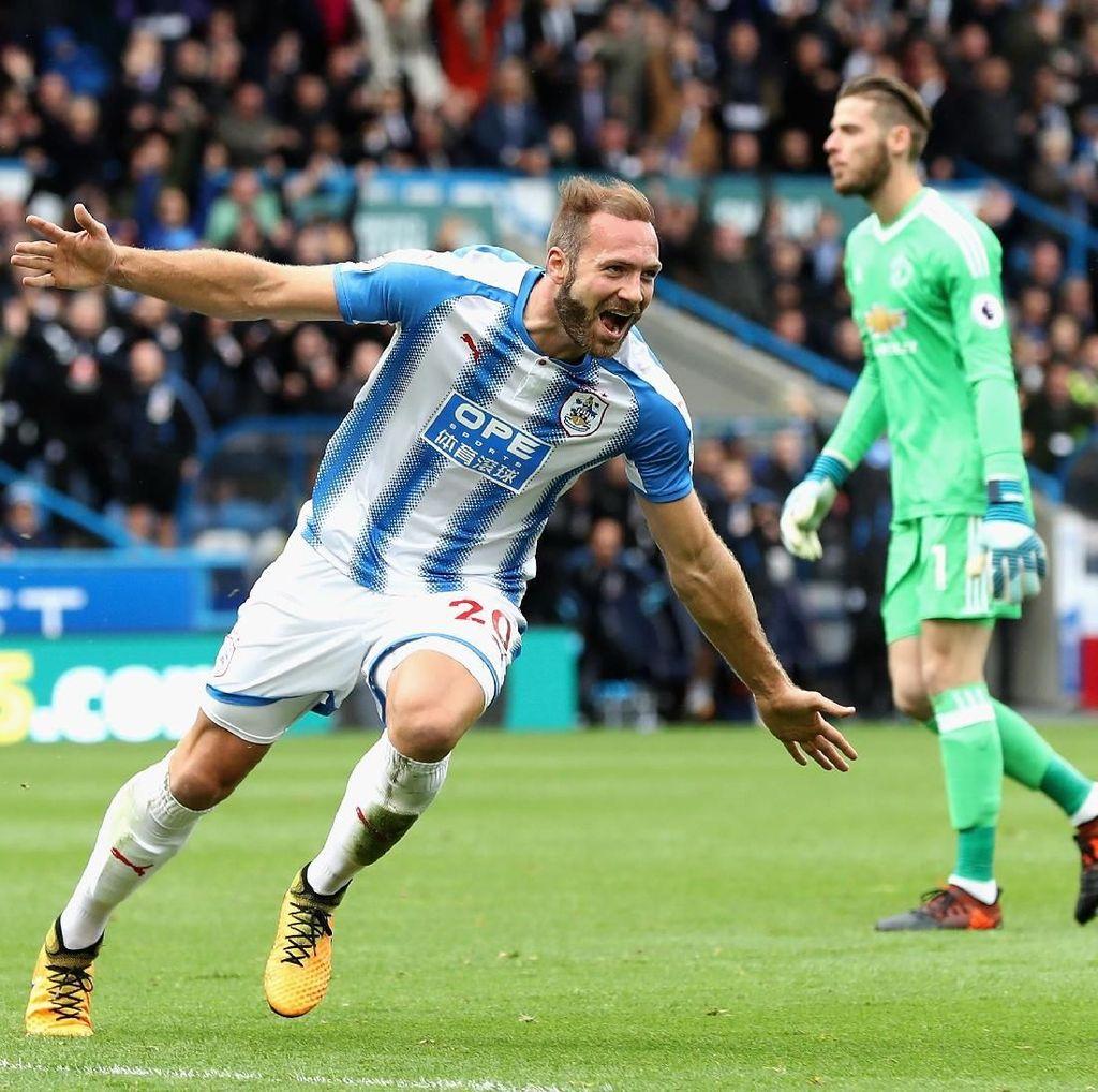 Sukses Kalahkan MU, Huddersfield Yakin Punya Peluang Menang atas City