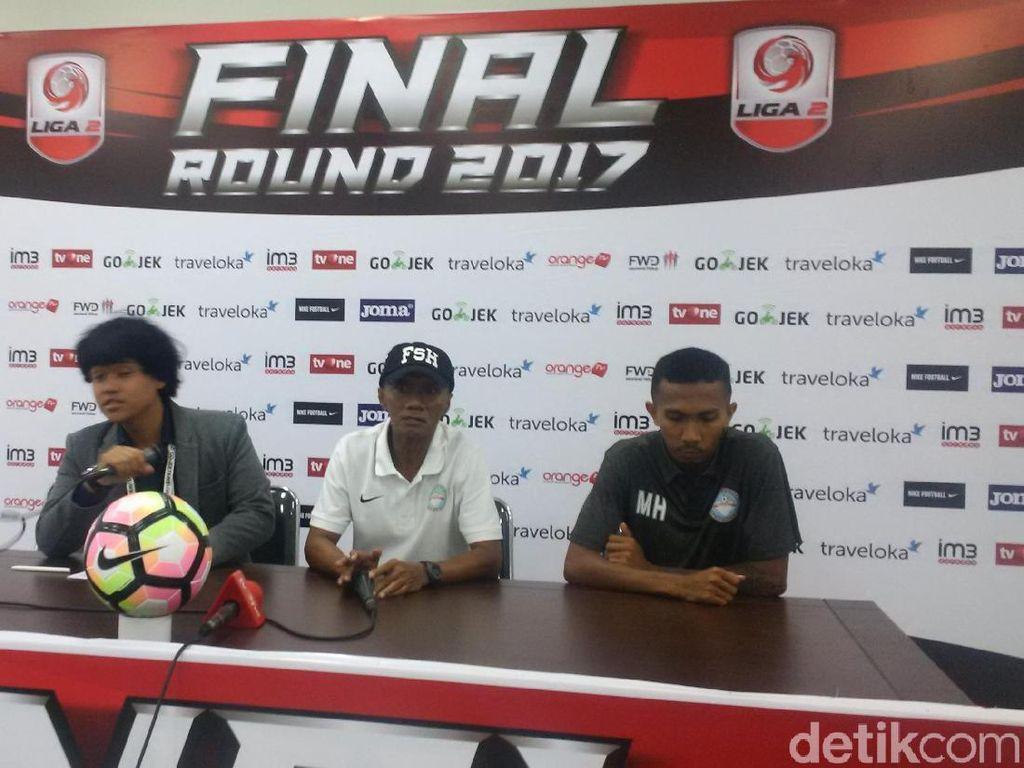 Usai Ditundukkan Persebaya, Martapura Belum Menyerah untuk Promosi ke Liga 1
