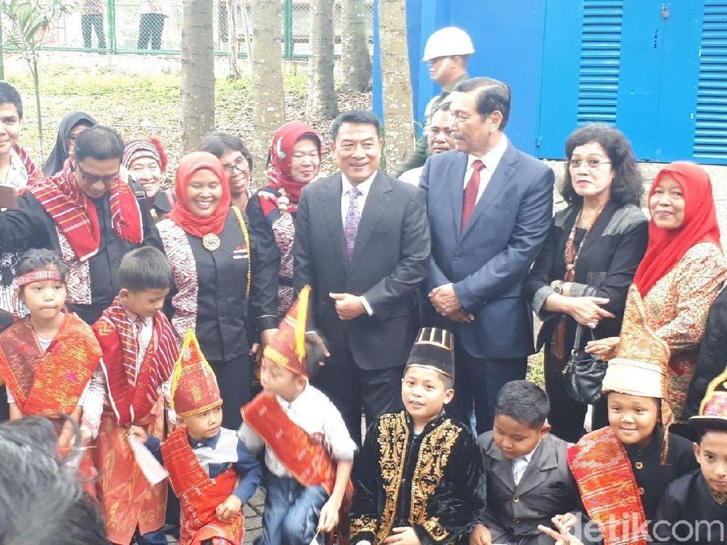 Resepsi Kahiyang di Medan, Moeldoko Tak Lagi Wakili Keluarga Jokowi