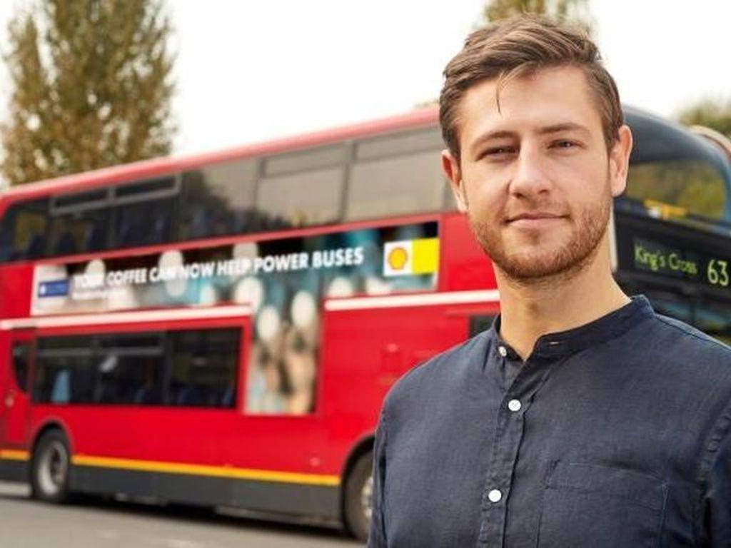 Bakal Ada Bus Berbahan Bakar Kopi di London