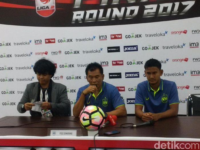 Pelatih PSIS Semarang, Subangkit (Foto: Mochamad Solehudin/detikcom)
