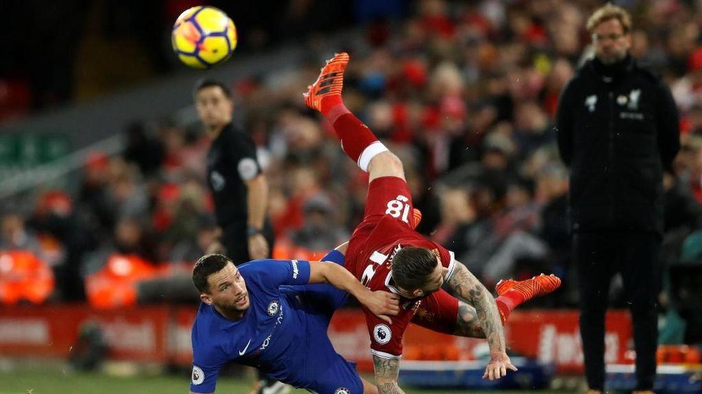 Liverpool vs Chelsea Sama Kuat