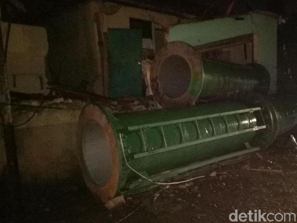 Tower BTS di Cipayung Masih Dievakuasi, Penghuni Rumah Diungsikan