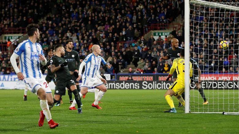 City Sementara Tertinggal 0-1 dari Huddersfield