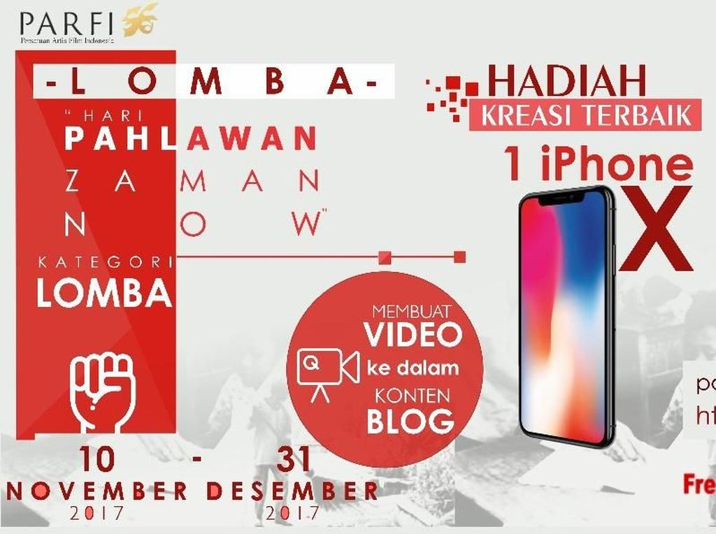 Telkomsigma Gelar Kompetisi Video Pendek, Hadiahnya iPhone X