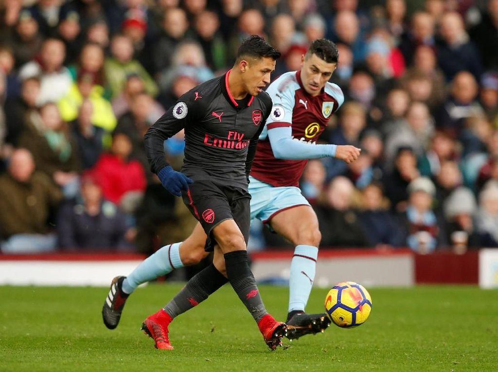 Arsenal Masih Ditahan Burnley Tanpa Gol