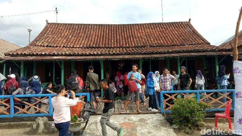 Ilustrasi Pasar Baba Boentjit di Palembang (Raja/detikTravel)