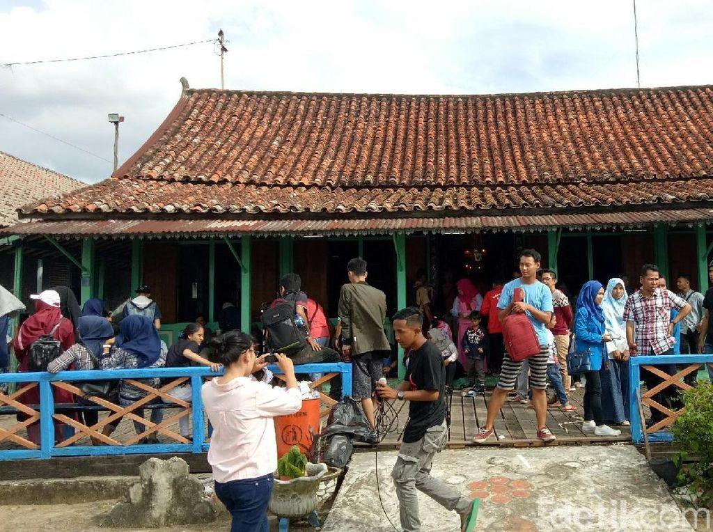 Foto: Pasar Baba Boentjit, Spot Wisata Baru dari Palembang