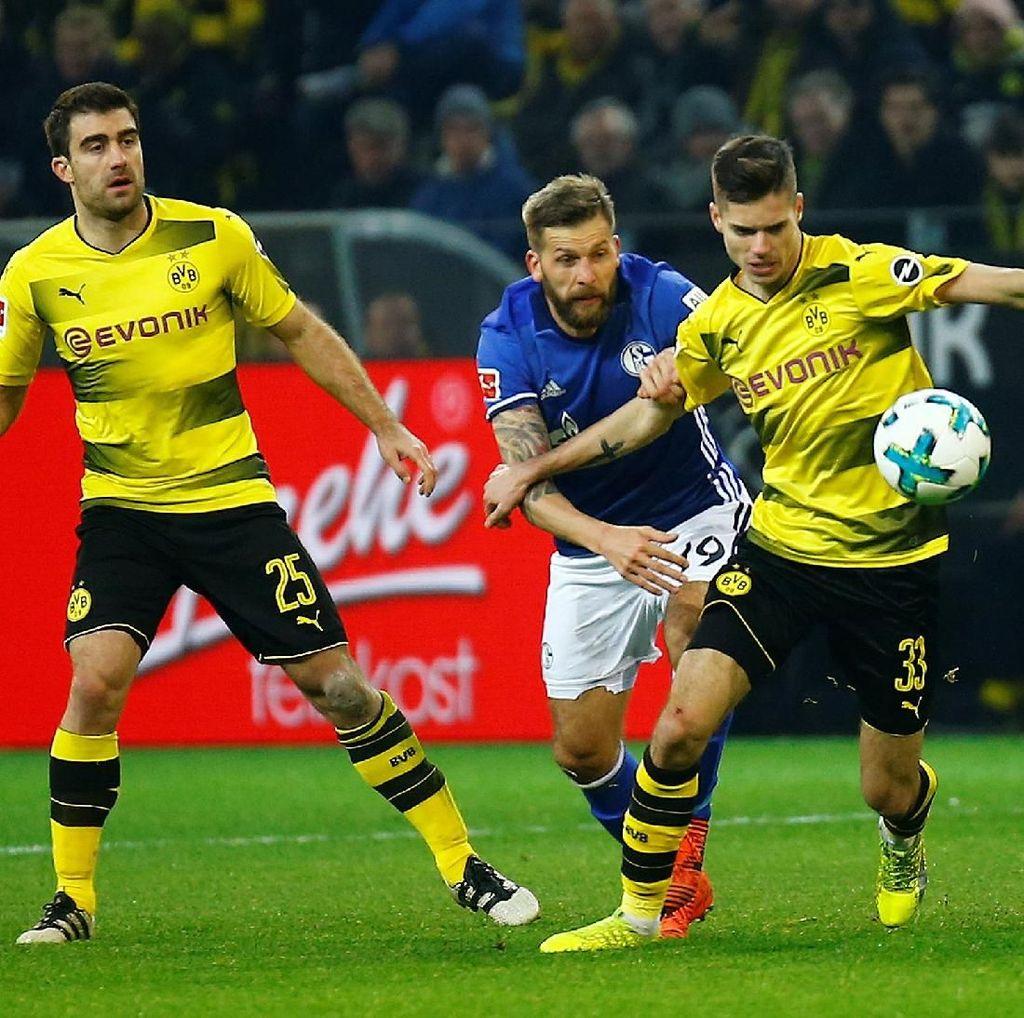 Dortmund vs Schalke Selesai 4-4
