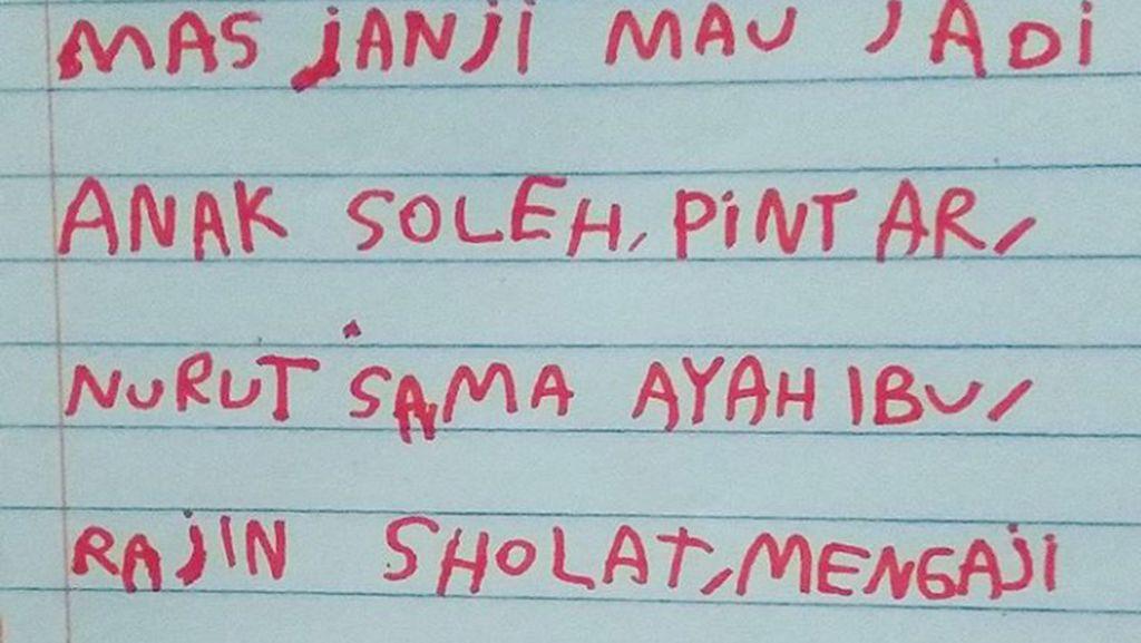 Foto: So Sweet! Surat-surat dari Anak untuk Ayah Bundanya