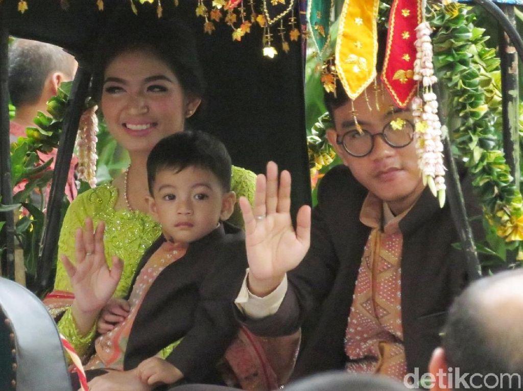 Gibran Putra Jokowi: Terima Kasih Keluarga Bobby dan Warga Medan