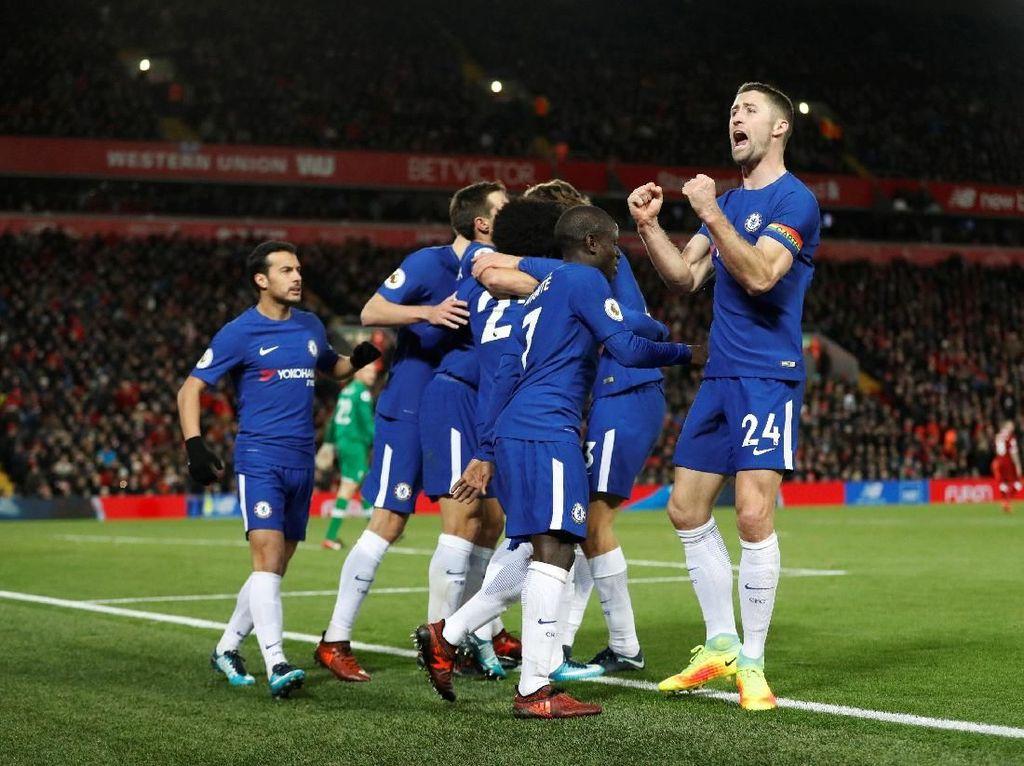 City Akan Senang dengan Hasil Liverpool-Chelsea