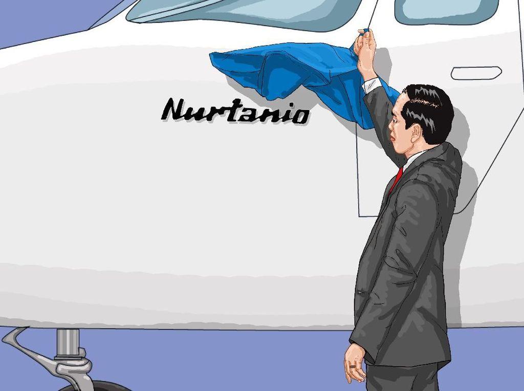 Pesawat Nurtanio Buatan PTDI Laku 75 Unit di Singapore Airshow