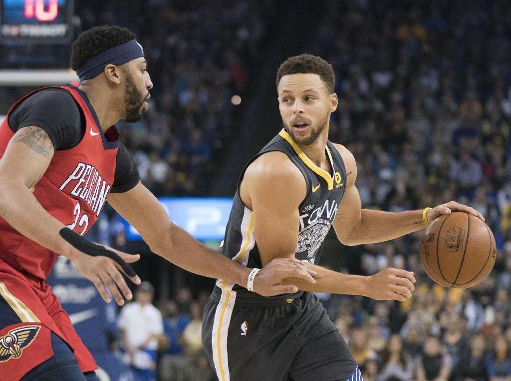 Warriors Bangkit dari Ketinggalan untuk Kalahkan Pelicans