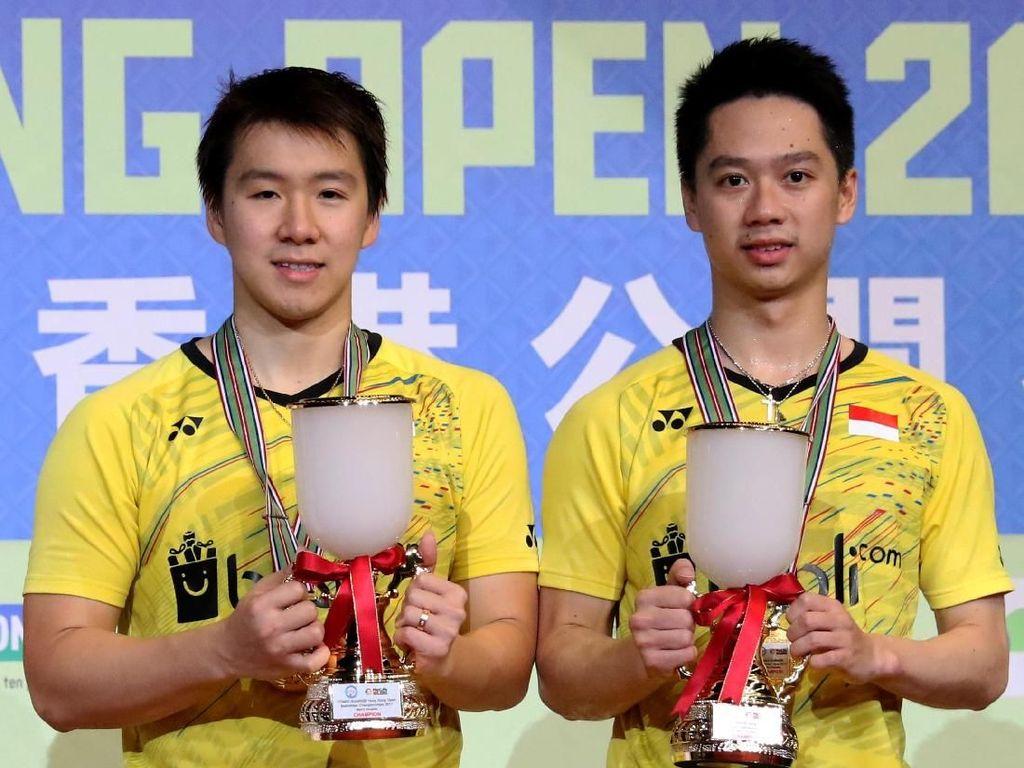 Kevin/Marcus Juara di Hong Kong