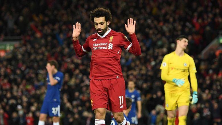 Inilah Alsan Kenapa  Salah Tidak Merayakan Gol Nya Ke Gawang Chelsea