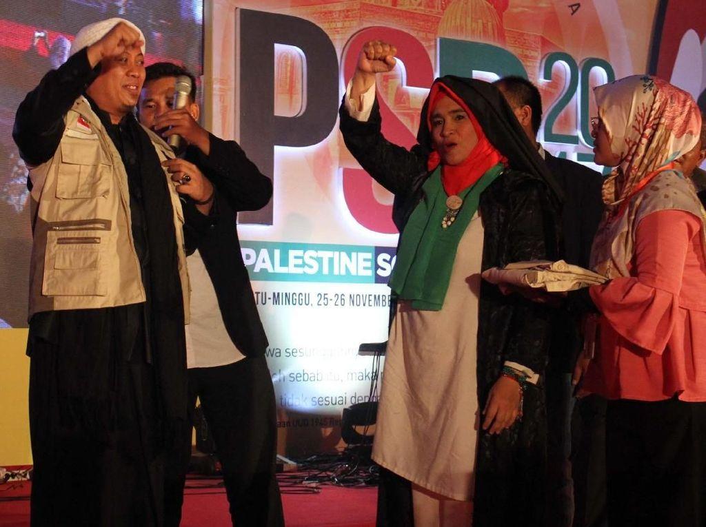 Opick dan Melly Jadi Duta Kemanusiaan untuk Pengungsi Palestina
