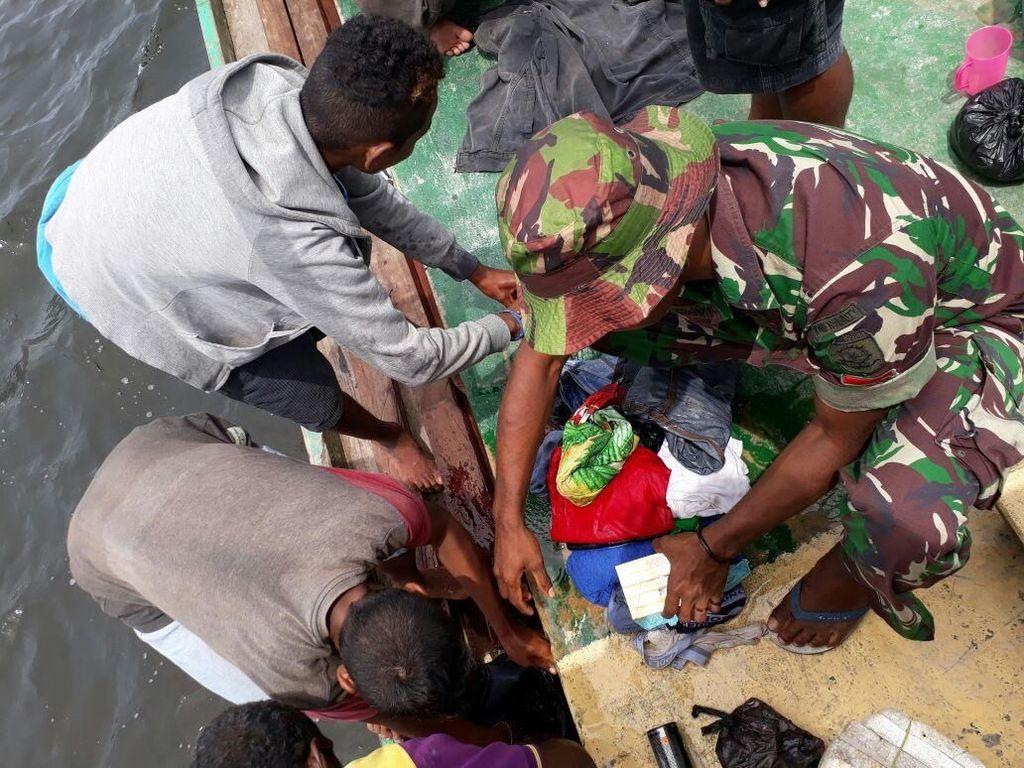 KM Lingkar Tenggelam di Laut Aru, 10 Orang Hilang