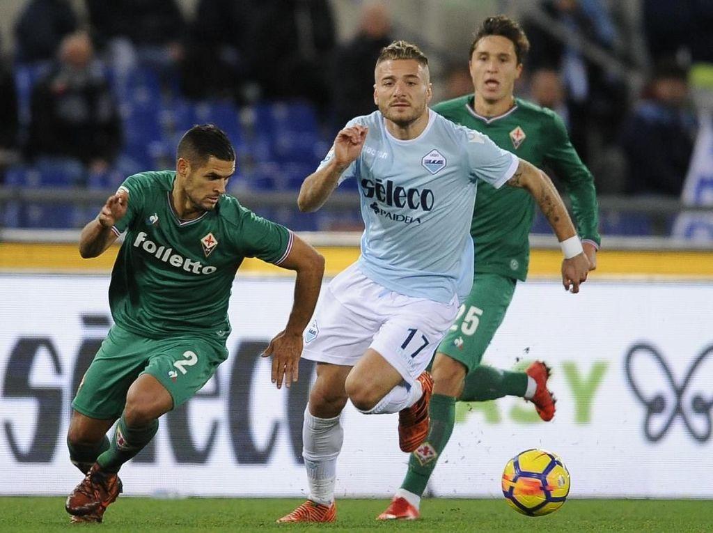Penalti Fiorentina di Injury Time Batalkan Kemenangan Lazio