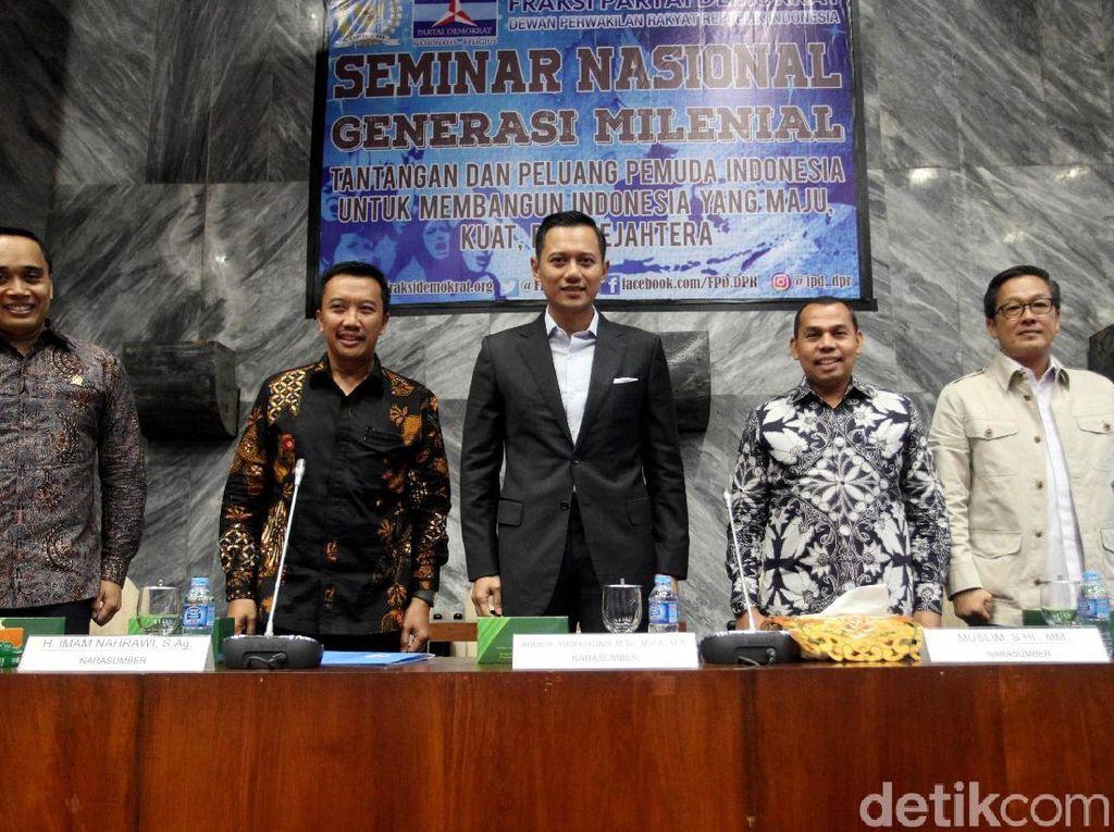 AHY Jadi Pembicara di Seminar Nasional di DPR