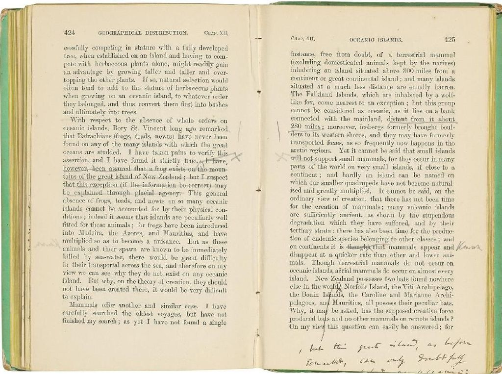 Salinan Buku On the Origin the Species Charles Darwin Dilelang Rp 9 M
