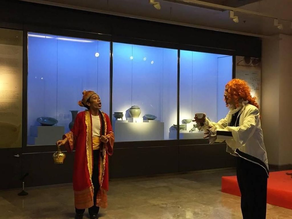 Teater Koma Pentaskan Lakon Dongeng Sejarah di Akhir Pekan di Museum