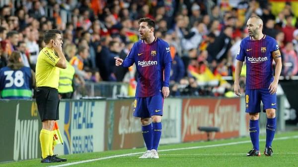 Soal Kontroversi Gol, Busquets: Liga Terbaik Butuh Teknologi Terbaik