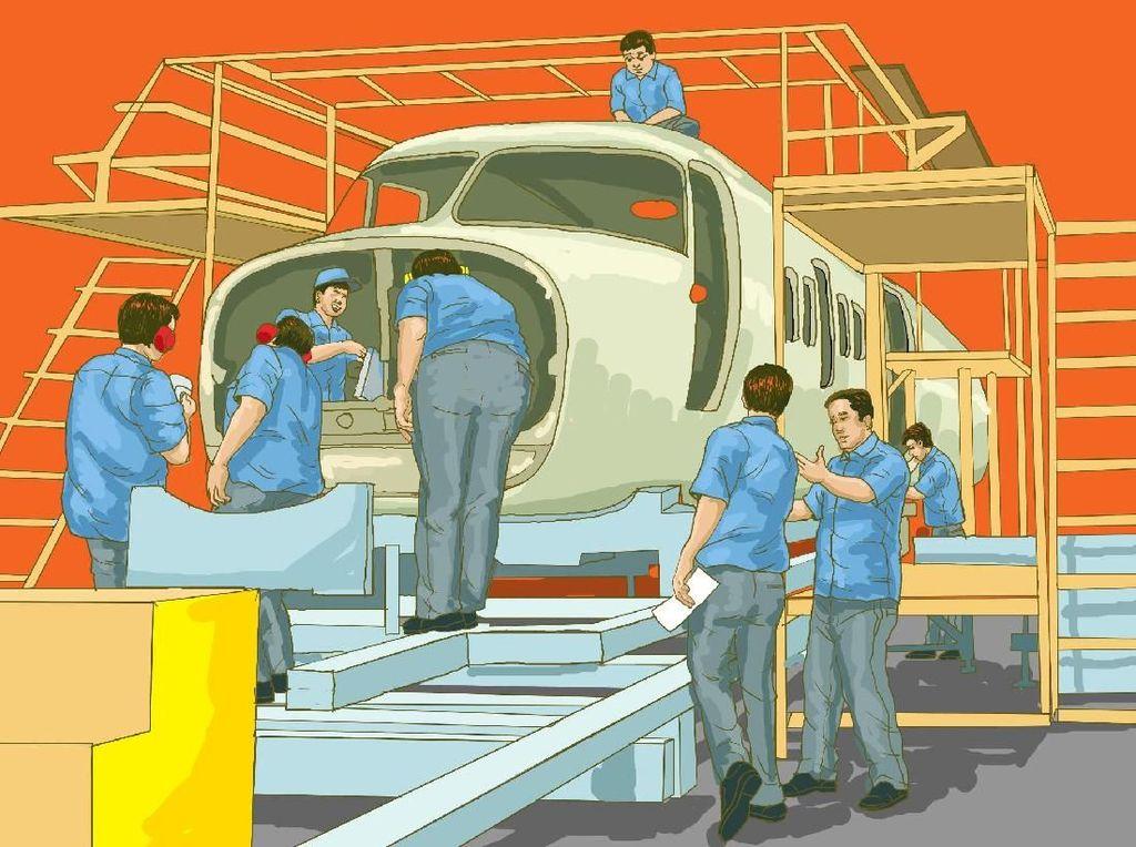 Ini Alasan Habibie Semangat Wujudkan Pesawat R80