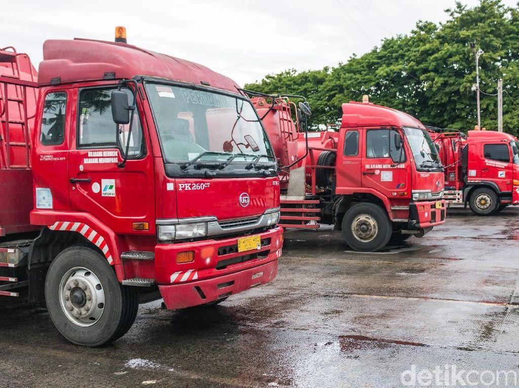 2 Mobil Tangki Pertamina Dibajak di Ancol! Dibawa ke Depan Istana