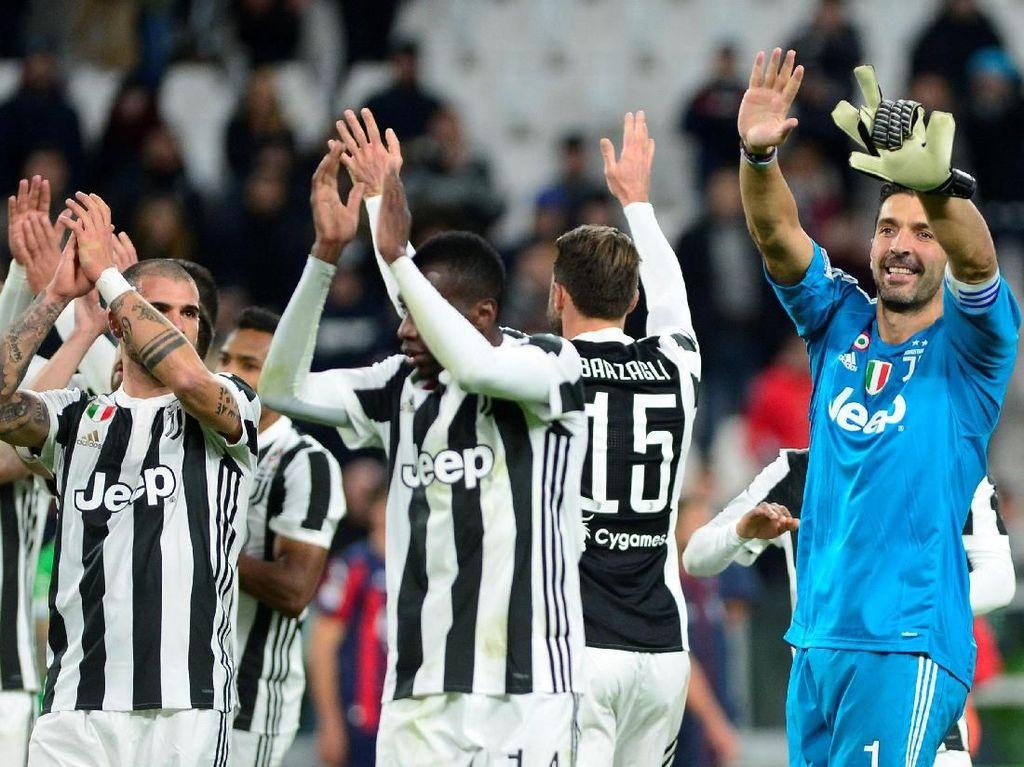 Serie A Kian Ketat, Juve Makin Termotivasi Pertahankan Scudetto