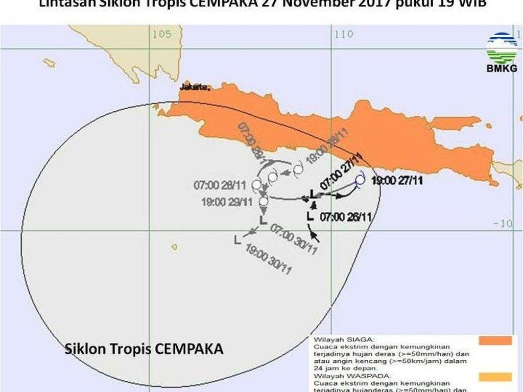 Ahli: Siklon Tropis Itu Bentuknya Awan yang Berputar