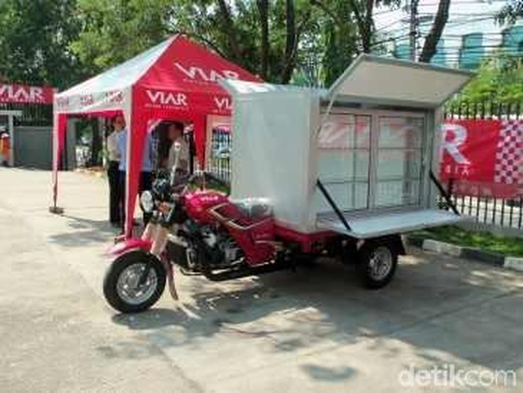 Viar: Motor yang Terbakar Motor Roda 3, Bukan Motor Listrik