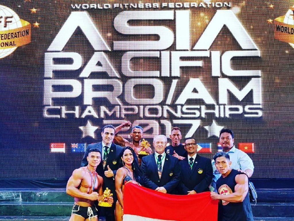 Indonesia Juara Umum, Lima Atlet Perbafi Rebut Pro Card