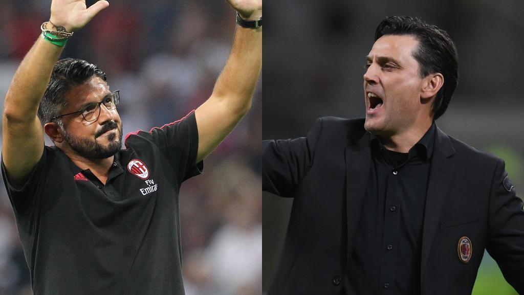 Milan: Tiga Tahun, Tujuh Pelatih