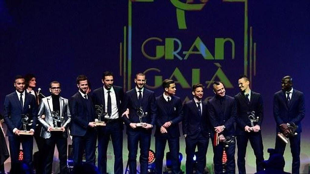 Foto: Susunan Tim Terbaik Serie A 2016/2017