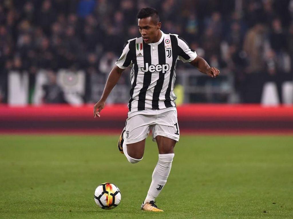 Teken Kontrak Baru, Alex Sandro di Juventus Sampai 2023