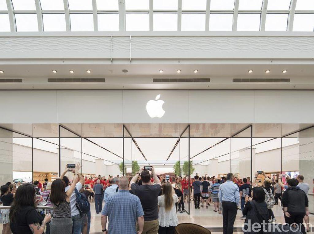 Kerennya Tampilan Anyar Apple Store