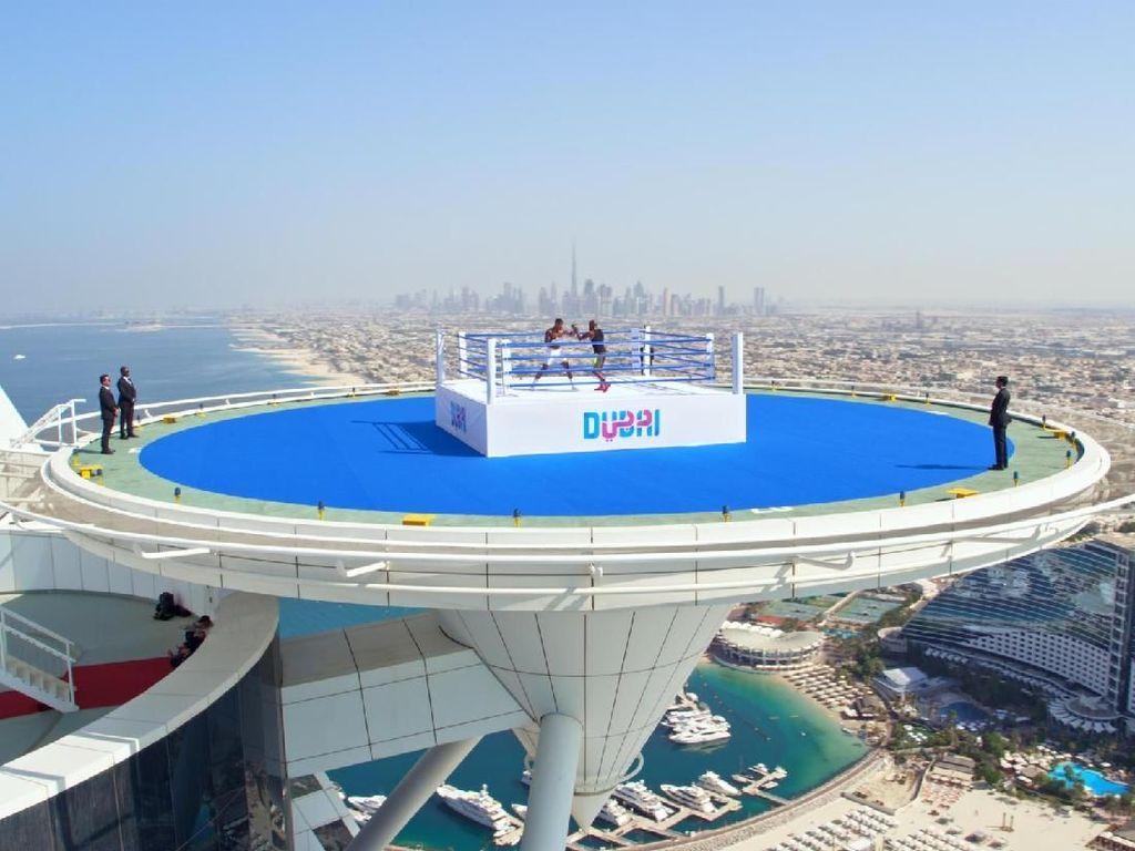 Foto: Inilah Ring Tinju Tertinggi di Dunia