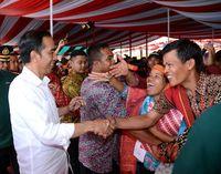 Begini Antusiasme Masyarakat Siantar Bertemu Jokowi