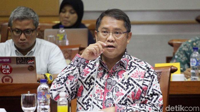 Menkominfo Rudiantara (Lamhot Aritonang/detikcom)