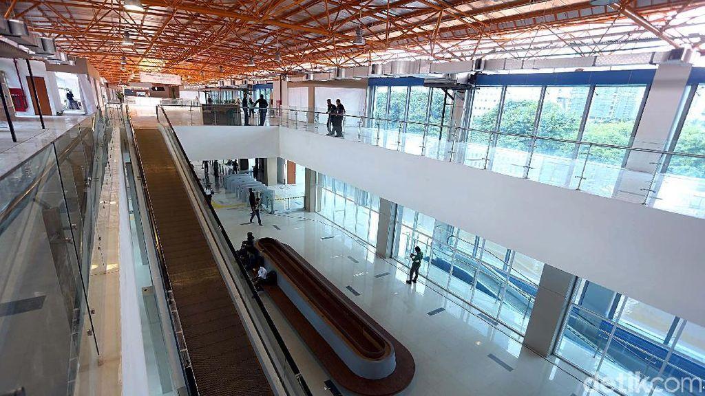 Foto: Keren! Desain Stasiun Sudirman Baru Mirip Bandara
