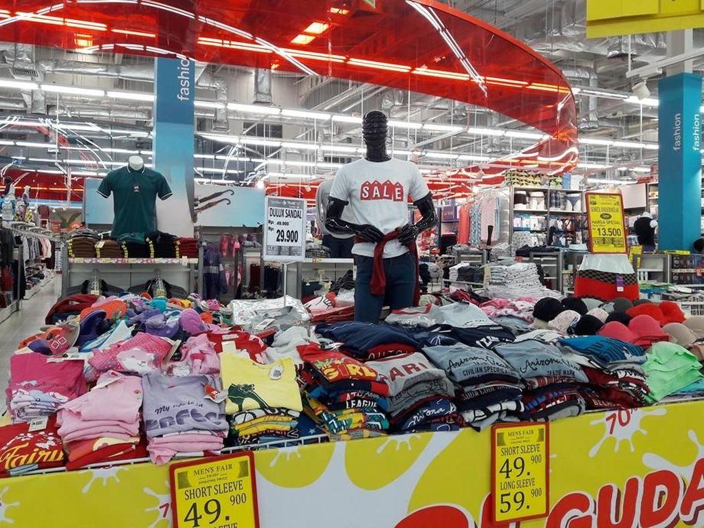 Transmart Carrefour Gelar Ledakan Promo Akhir Tahun untuk Tekstil