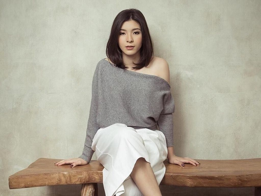 Shaloom, Putri Wulan Guritno yang Hobi Banget Berenang