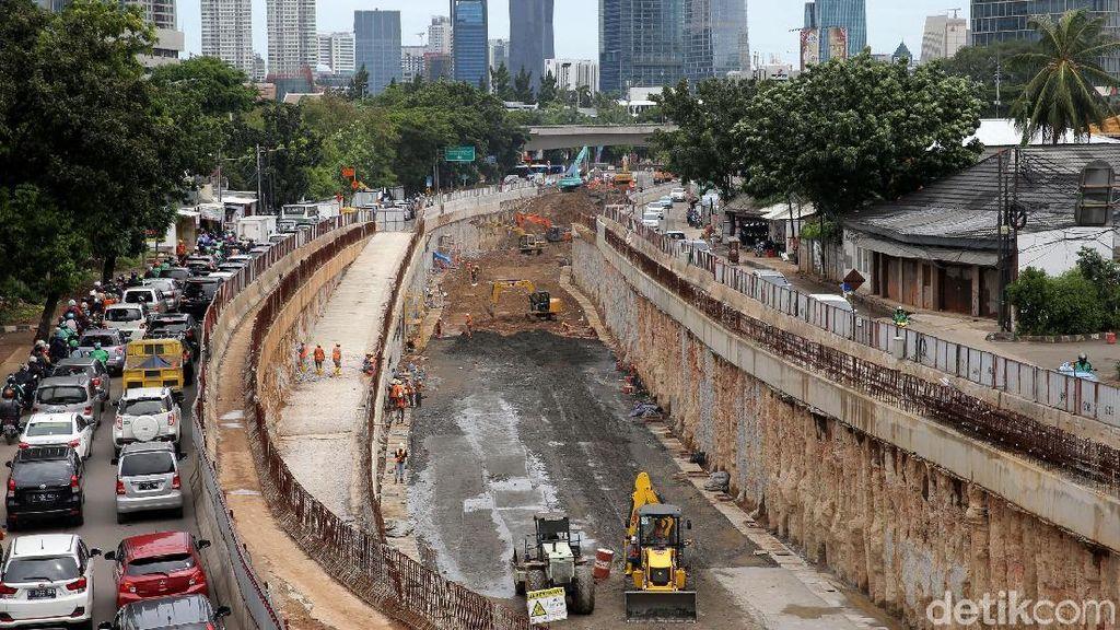 Intip Perkembangan Terkini Proyek Underpass Mampang