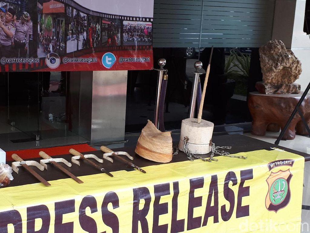 Ini Air Keras yang Buat 7 Murid Debus Terluka di Tangerang
